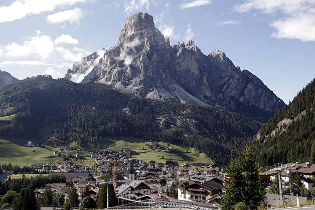 Sciare a Corvara in Alta Val Badia