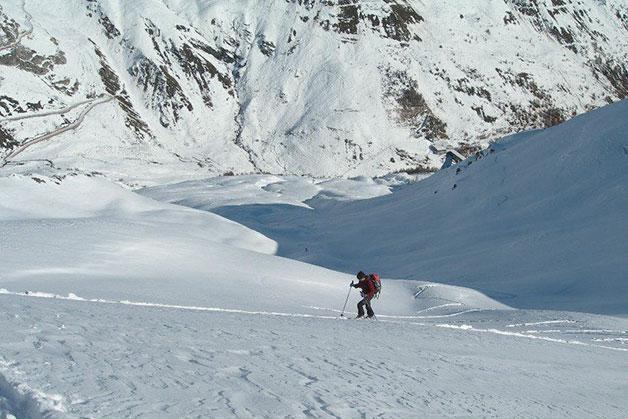 Sciare Al Gran San Bernardo