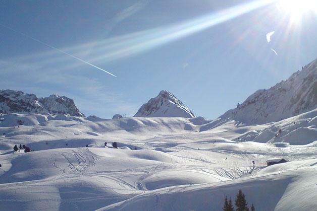 Sciare al Paradiski