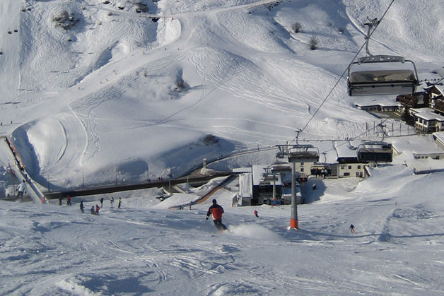 Sciare a Lech Zürs