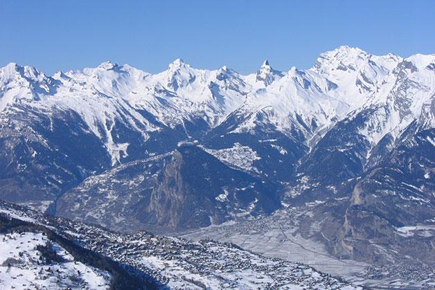 Sciare a Nendaz