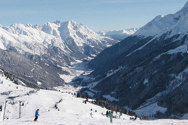 Sciare a St. Anton am Arlberg